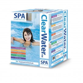 Mspa Chemical Starter Kit for Hot Tub and Spa Water Treatment